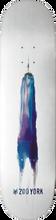 Zooyork - Water Color Freedom Tower Deck-8.0 (Skateboard Deck)