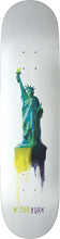 Zooyork - Water Color Liberty Deck-8.5 (Skateboard Deck)