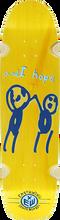 "Earthwing - Hope 34"" Deck-8.5x34 Yellow (Longboard Deck)"