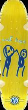 "Earthwing - Hope 36"" Deck-8.75x36 Yellow (Longboard Deck)"