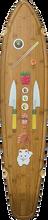 Globe - Byron Bay Deck-9.5x43 Bamboo/sushi (Longboard Deck)