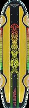 Gravity - Routered Rasta Deck-7.81x30 Yel/rasta (Longboard Deck)