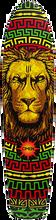 Omen - Dreaded Lion Deck-9.5x40 (Longboard Deck)