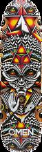 Omen - Grey Spirit Deck-8.9x33 (Longboard Deck)