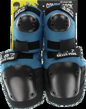 187 - Combo Pack Knee/elbow Pad Set S/m-slate Blue