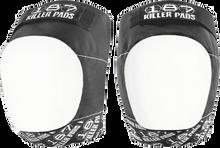 187 - Pro Knee Pads Xl-blk/wht Text/wht Cap