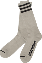 "Independent - ""sock"" Crew Socks Heather Grey 1pr"