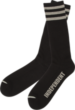 "Independent - ""sock"" Crew Socks Black 1pr"