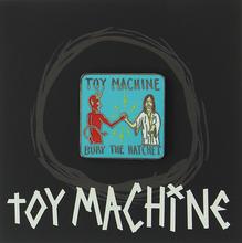 Toy Machine - Bury The Hatchet Lapel Pin