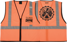 Creature - Ccmu Work Vest L/xl-orange