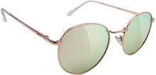 Glassy Sunhaters - Ridley Rose Gold/pink Mirror Sunglasses