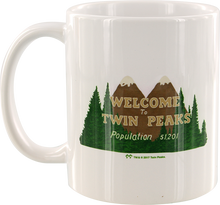 Habitat - Twin Peaks Welcome Coffee Mug White