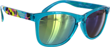 Happy Hour - Hour Mamba Tag Turquoise Sunglasses