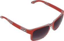 Independent - Cross Bar 80's Sunglasses Red