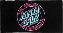 Santa Cruz - Cali Dot Towel Black