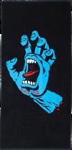 Santa Cruz - Screaming Hand Towel Black/blue