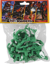 Toy Boarders - Boarders Skate Pro Series I Figures Green 24pc
