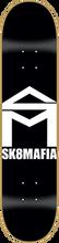 Skate Mafia - House Deck-7.5 Blk/wht (Skateboard Deck)