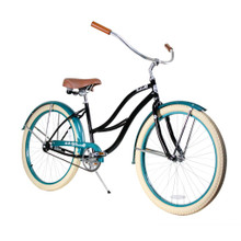ZF Bikes - Beach Cruiser Bike - 2017 Paraiso - Black