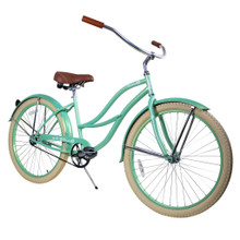 ZF Bikes - Beach Cruiser Bike - 2017 Paraiso - Mint