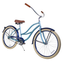 ZF Bikes - Beach Cruiser Bike - 2017 Paraiso - Misty