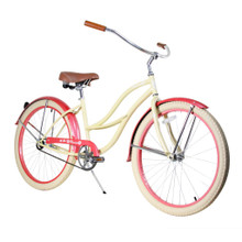 ZF Bikes - Beach Cruiser Bike - 2017 Paraiso - Sandy
