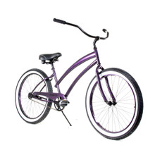ZF Bikes - Beach Cruiser Bike - Cheetah - Purple