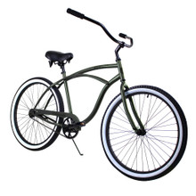 ZF Bikes - Beach Cruiser Bike - Classic - Army
