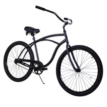 ZF Bikes - Beach Cruiser Bike - Classic - Black