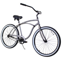 ZF Bikes - Beach Cruiser Bike - Classic - Raw