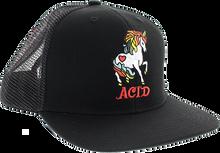 Acid - Unicorn Mesh Hat Adj-black
