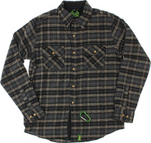 Creature - Angler L/s Button Up S-black Plaid