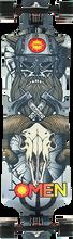 Omen - Barbarian Mini Complete-9.75x36.5 Silver - Complete Skateboard