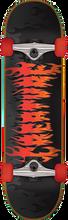Creature - Firestarter Sm Complete-7.75 Blk/red - Complete Skateboard
