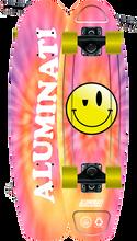 Aluminati - Tie Dye Pink A-frame Complete-7x24 - Complete Skateboard