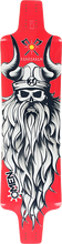 Omen - Barbarian Deck-9.75x38.5 Red - Longboard