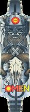 Omen - Barbarian Mini Deck-9.75x36.5 Silver - Longboard