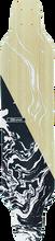 Db Longboards - Coreflex Crossbow Flex3 Deck-9x40 Bk/wt/nat - Longboard