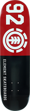 Element - 92 Classic Deck-7.9 Blk/red/wht - Skateboard Deck