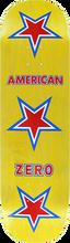 Zero - American Zero Deck-8.37 Yellow - Skateboard Deck