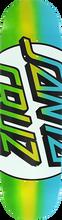 Santa Cruz - Big Missing Dot Taper Tip Deck-8.25 Blu/grn - Skateboard Deck