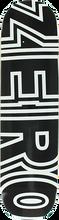 Zero - Bold Deck-7.75 Black/wht - Skateboard Deck