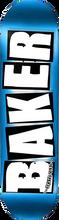 Baker - Brand Logo Foil Deck-8.75 Blue - Skateboard Deck