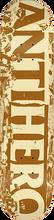 Anti Hero - Budget Cuts Deck-8.06 Tan/brown Ppp - Skateboard Deck