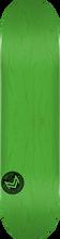 Mini Logo - Deck 112/k-12 -7.75 Chevron Stamp Grn Ppp - Skateboard Deck