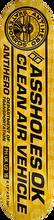 Anti Hero - Clean Air Deck-8.12 Yel/blk - Skateboard Deck