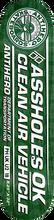 Anti Hero - Clean Air Deck-8.25 Grn/wht - Skateboard Deck