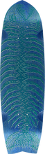 Alva - Dead Piranha Mini Deck-8.5x32 Blue - Skateboard Deck