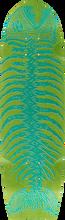 Alva - Dead Piranha Mini Deck-8.5x32 Green - Skateboard Deck