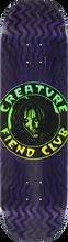 Creature - Fiend Club Deck-8.25 Purple - Skateboard Deck